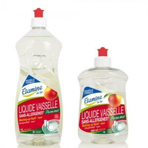 Lavavajillas a mano de manzaa disponible en dos tamaños