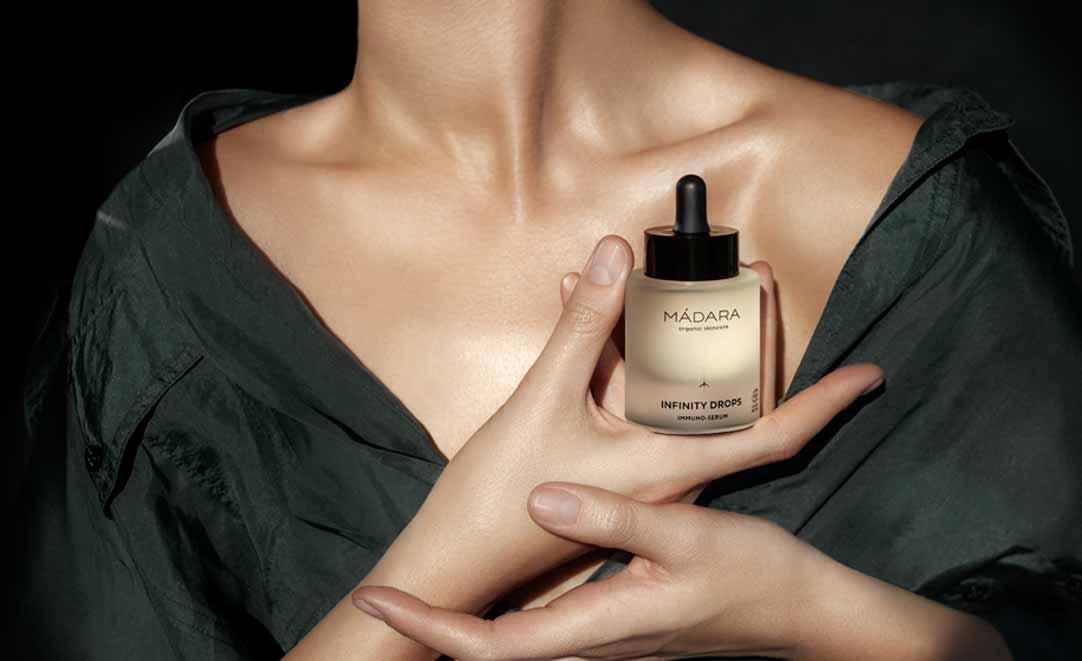 ¿Tu piel es inmune? INFINITY de Mádara Cosmetics