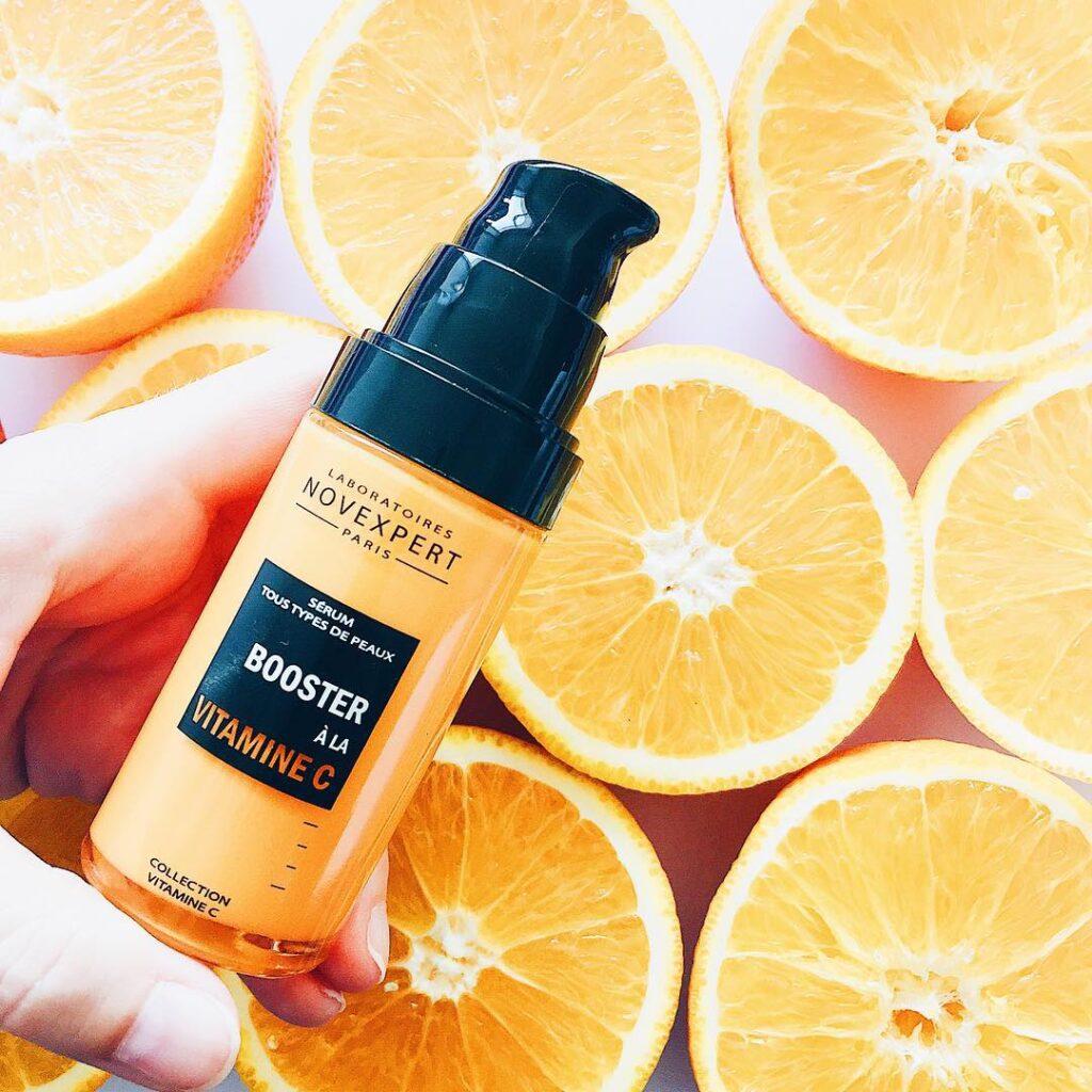 Sérum natural de vitamina C estabilizada apto pieles sensibles de Novexpert