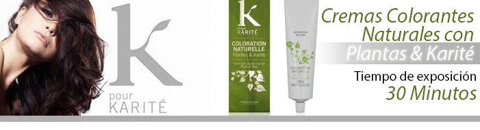 Crema Colorante Natural Plantas & Karité