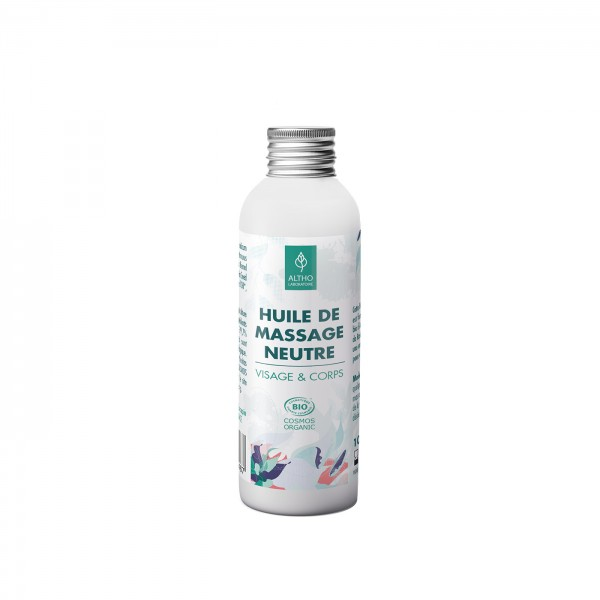Aceite facial y corporal neutro sin perfume de Altho 100ml