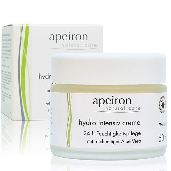 Crema Hidro Intensiv de Apeiron 50ml.