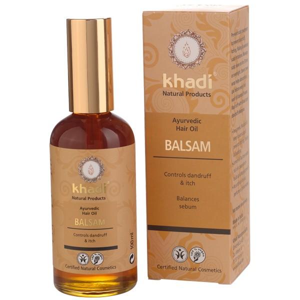 Aceite Capilar Balsámico Anti-Caspa de Khadi 100ml