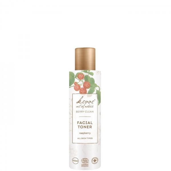 Tónico facial antioxidante con frambuesa Berry Clean Kivvi 150ml