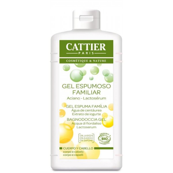 Gel Espumoso con Lactoserum de Cattier 500ml