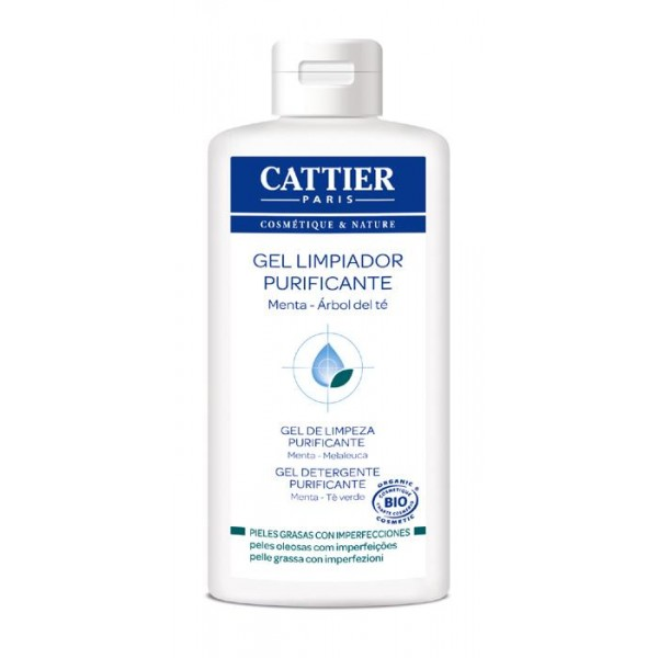 Cattier Gel Limpiador Purificante (con Arbol de Te) 200ml.