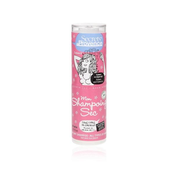 Champú seco en polvo Secrets de Provence 38g
