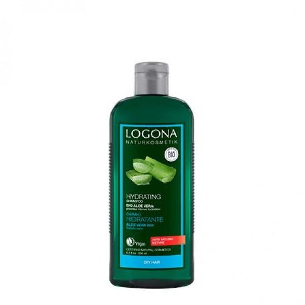 Champú hidratrante Aloe de Logona 250ml