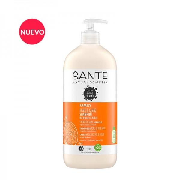 SANTE Champú Brillo Naranja y Coco 950ml.