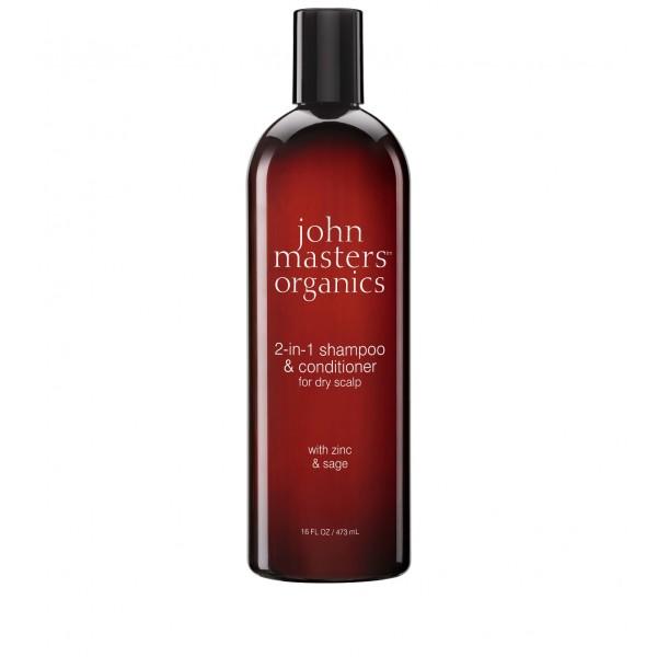 Champú Zinc & Salvia con Acondicionador de John Masters 473ml