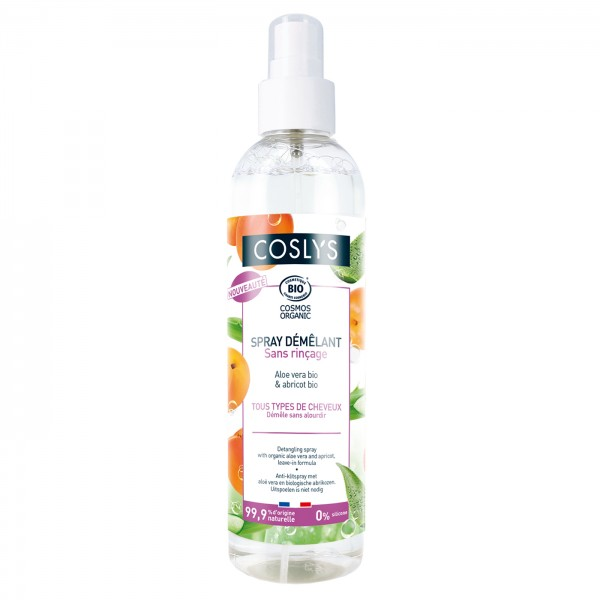 Spray Desenredante Aloe Vera + Albaricoque Coslys 200ml.