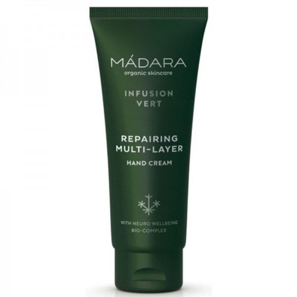 Crema de manos protectora antioxidante Infusion Vert Mádara 75ml
