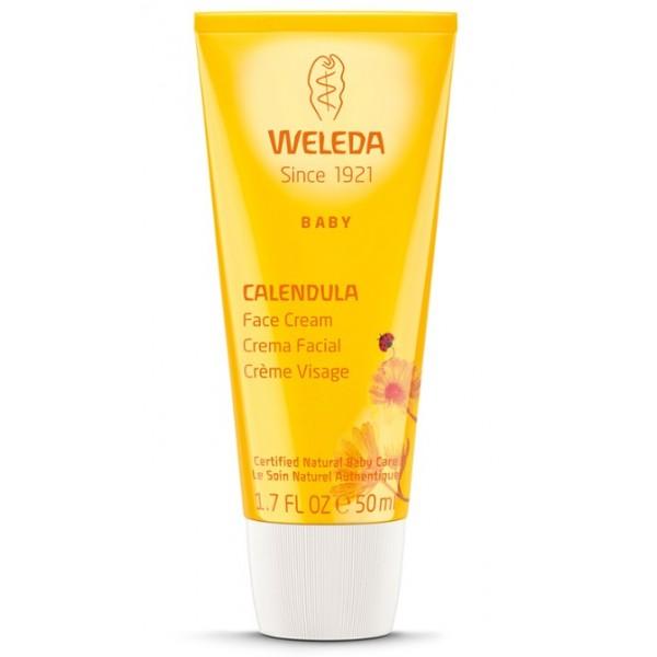Crema Facial de Caléndula Bebé Weleda 50ml.