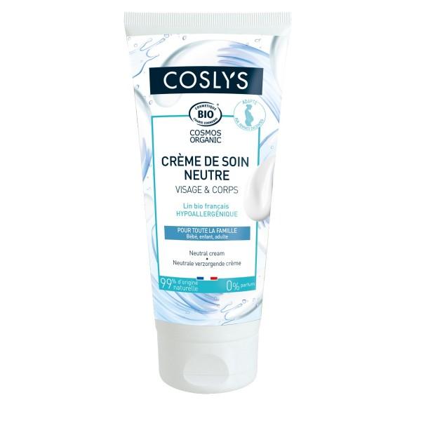 Crema neutra cara y cuerpo sin perfume de Coslys 200ml