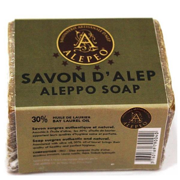 Alepeo El jabón de Alepo de 30%