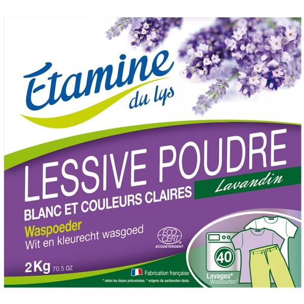 Etamine du lys Detergente en polvo 2/4 Kg