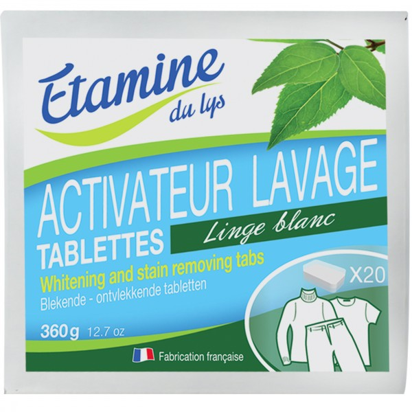 Tabletas activadoras del blanco x20 (440g) de Etamine du Lys