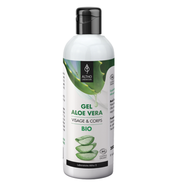 Gel de Aloe Vera Puro Bio de Laboratoire Altho 200ml
