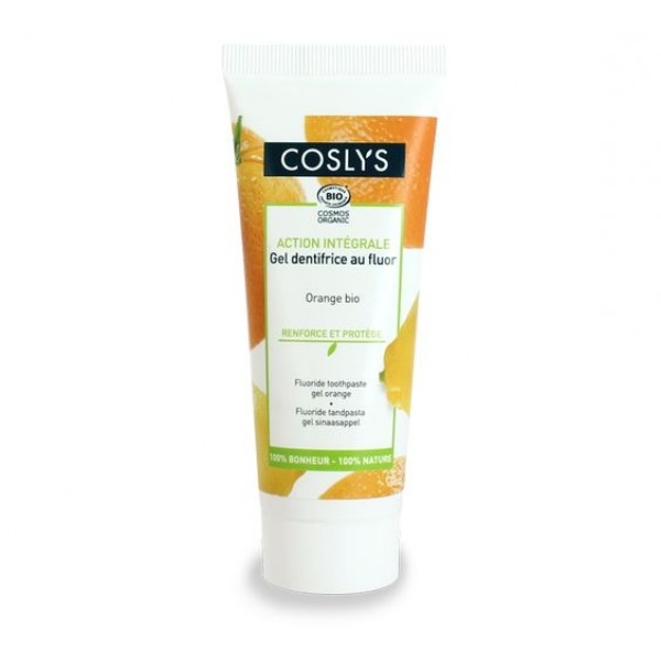 Gel dentífrico Naranja 75ml de Coslys