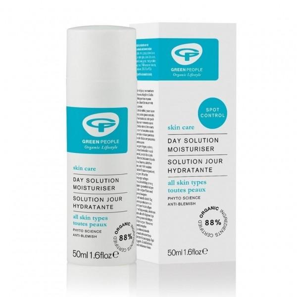 Crema hidratante diaria con prebióticos de Green People 50ml