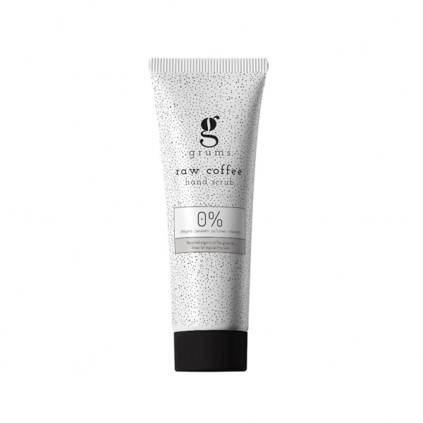 Exfoliante de manos con café de GRUMS 120ml