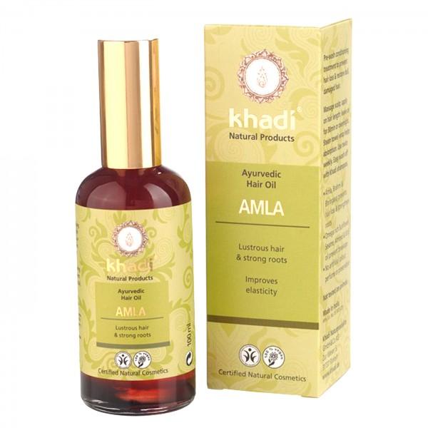 Khadi Aceite Amla Brillo 50ml.