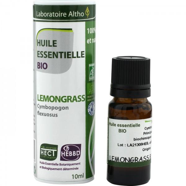 Aceite esencial de lemongrass BIO 10ml Laboratoire Altho