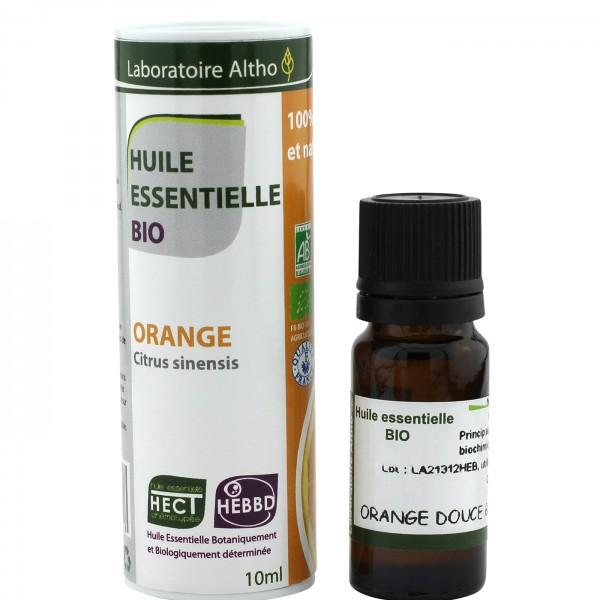 Aceite esencial de naranja BIO 10ml Laboratoire Altho