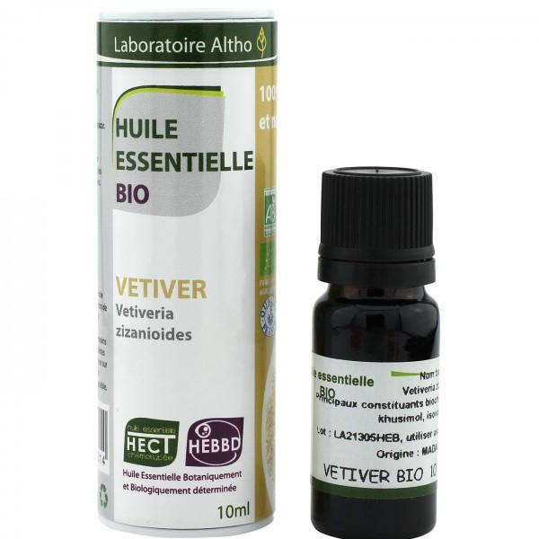 OFERTA 50% Aceite esencial de vetiver BIO 10ml Laboratoire Altho