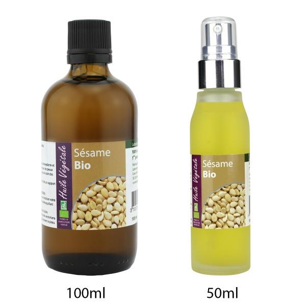 Aceite de Sesamo bio de Laboratoire Altho (50ml/100ml)