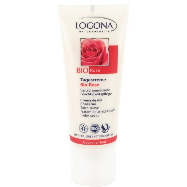 Oferta 30% Crema de día Rosas Piel Seca Logona 40ml.