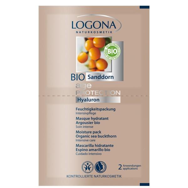 Logona Mascarilla Hidratante Antioxidante Age Protection 2 x 7,5ml.