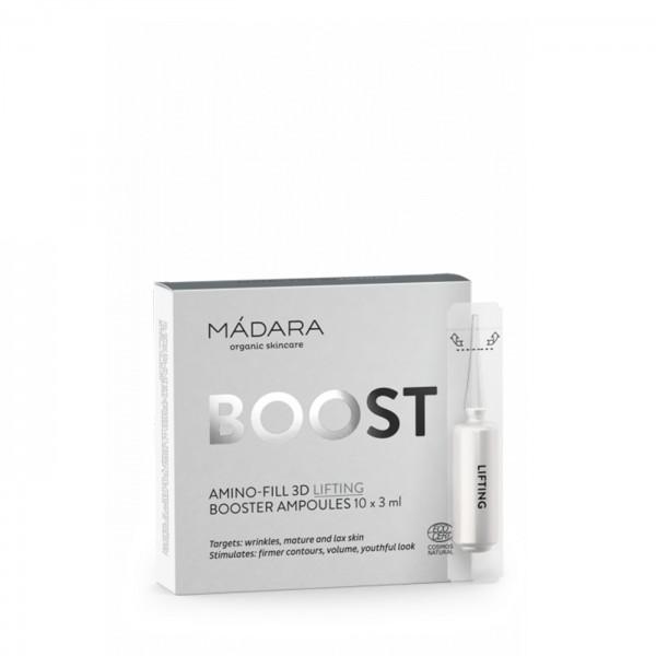 OFERTA 70% Ampollas reafirmantes Amino-Fill 3D Lifting 10x3ml Mádara