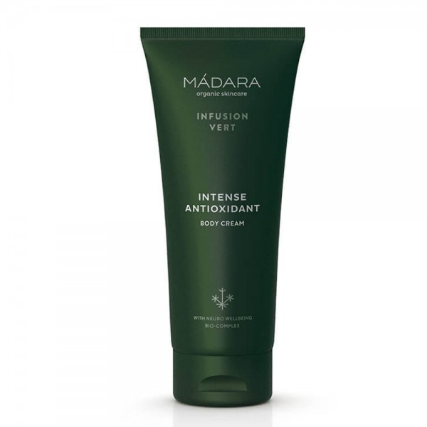 Crema corporal antioxidante intensiva Infusion Vert 200ml Mádara