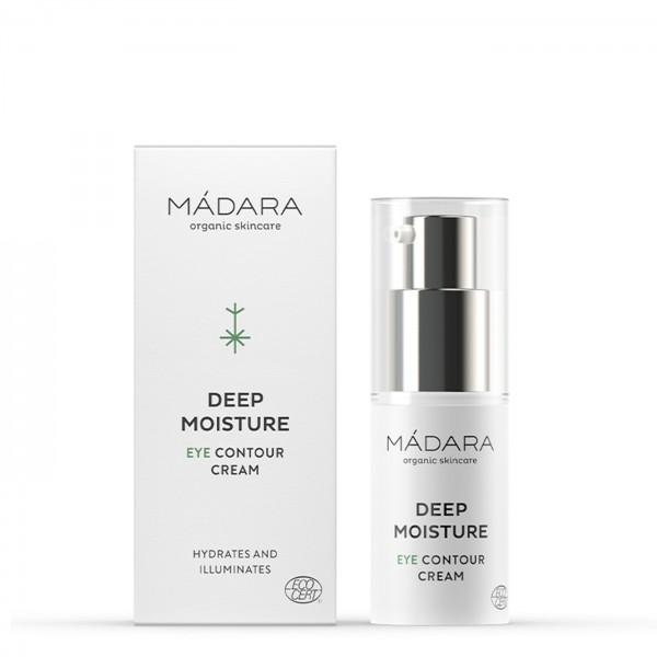 60% OFERTA Madara Crema Contorno de Ojos Deep Moisture 15ml.