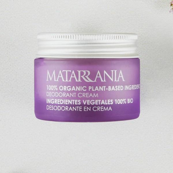 Desodorante en crema Bio Sin Bicarbonato de Matarrania