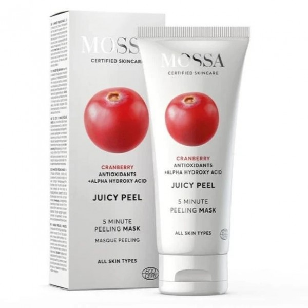 Mascarilla Peeling Antioxidante Juicy Peel de Mossa 60ml