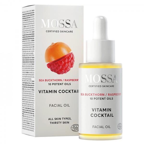 Mossa Aceite facial cóctel vitamínico 30ml