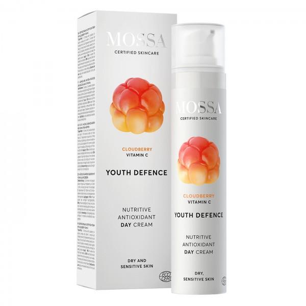 Mossa Youth Defence Crema Día Nutritiva Antioxidante 50ml