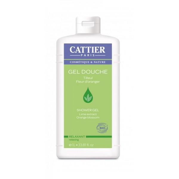 Cattier Gel de Baño y  Ducha Relajante 1 Litro
