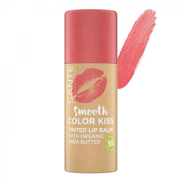 Bálsamo de labios con color 4,5g de Sante-Soft coral