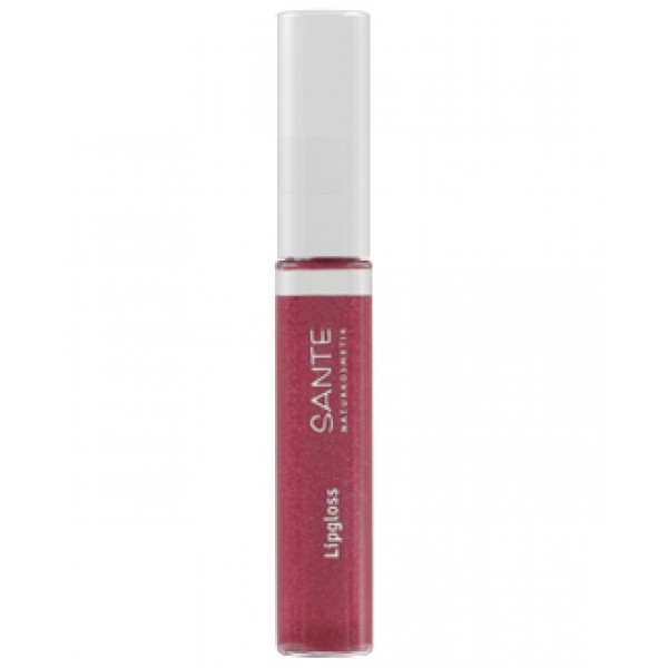 "Sante Brillo de Labios ""Red Pink"" Nº04"