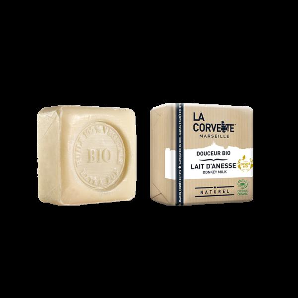 Jabón de Marsella y leche de burra - Neutro de La Corvette 100g