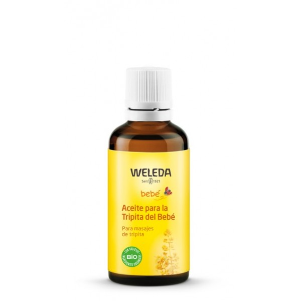 OFERTA 15% Aceite tripita del bebé gases y cólicos 50ml de Weleda