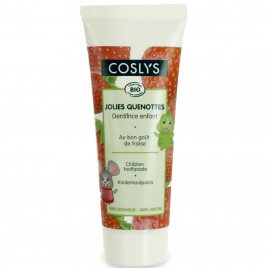 Coslys Dentífrico Infantil con Fresas Bio sin Fluor y sin Sodium Lauryl Sulfate 50ml
