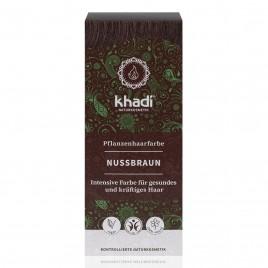 Khadi Tinte Vegetal Castaño Avellana 100% Herbal 100gr.