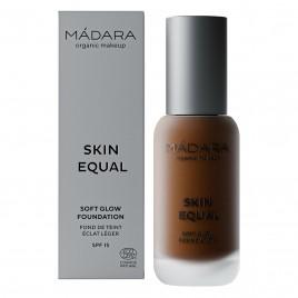 OFERTA 60% Maquillaje Base Skin Equal de Madara SPF 15,  30ml - Mocha #100