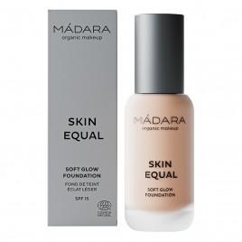 Maquillaje Base Skin Equal de Madara SPF 15,  30ml - Rose Ivory #30