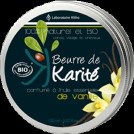 Manteca de karité pura con vainilla 150ml.