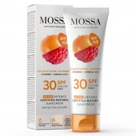 Crema Facial SPF 30 Antioxidante de Mossa